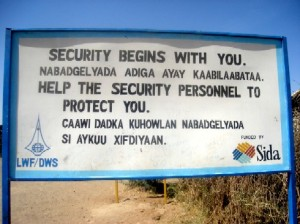 A public message for Kakuma camp residents.