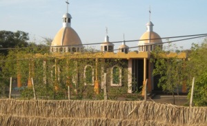 The new Ethiopian Orthodox Church in Kakuma Town