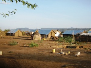 A Kakuma Camp neighborhood