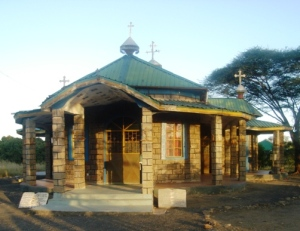 The Orthodox Church in Kakuma Camp and site of the celebrations