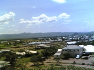 A bird's eye view of Kakuma Town