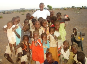 Katamea with children from Kalamchuch Village