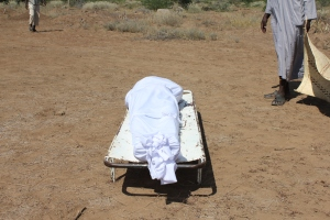 Body of late Feisal Abdi