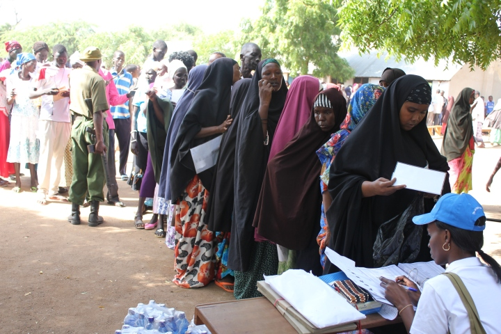 Refugee Election in Kakuma