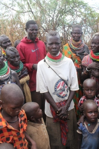 Turkana people affected by the drought