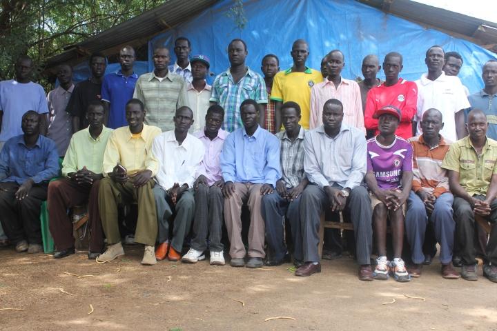 Some of the Lost Boys still stranded in Kakuma