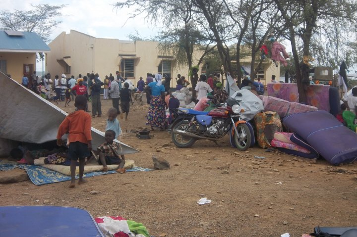 Thousands displaced following the killings