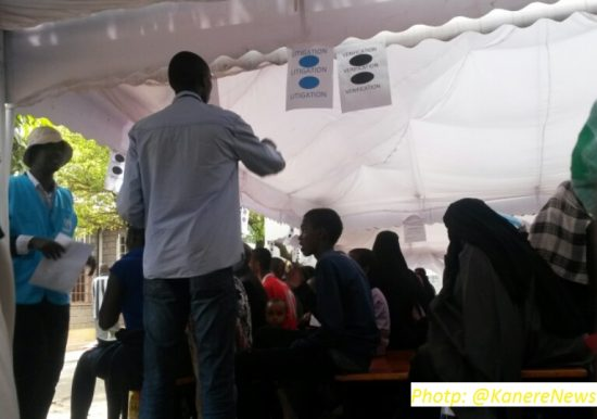 Refugee verification exercise